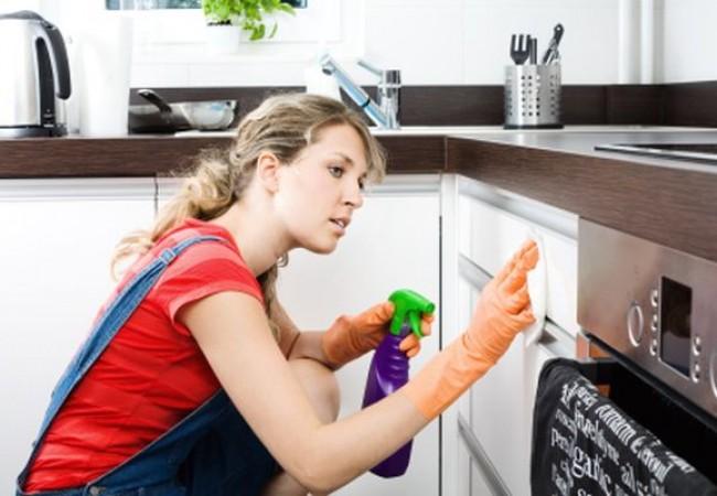 dọn dẹp căn bếp
