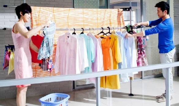 Diệt khuẩn bằng cách giặt quần áo